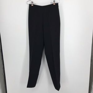 Women's Dana Buchman Black Wool Dress Pants Size 6